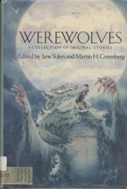 WEREWOLVES by Jane Yolen