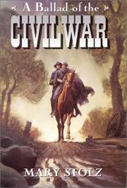 Cover art for A BALLAD OF THE CIVIL WAR