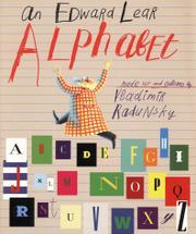 AN EDWARD LEAR ALPHABET by Edward Lear