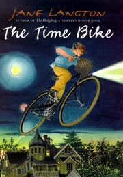 THE TIME BIKE by Jane Langton