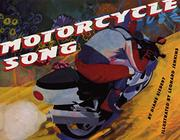 Cover art for MOTORCYCLE SONG