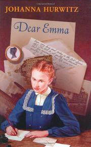 DEAR EMMA by Johanna Hurwitz