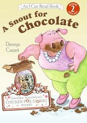 Book Cover for A SNOUT FOR CHOCOLATE