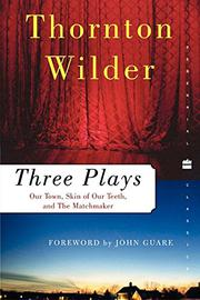 Book Cover for THREE PLAYS