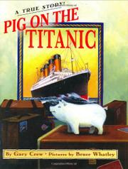 Cover art for PIG ON THE TITANIC