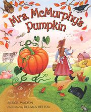 Cover art for MRS. MCMURPHY'S PUMPKIN