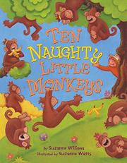Cover art for TEN NAUGHTY LITTLE MONKEYS
