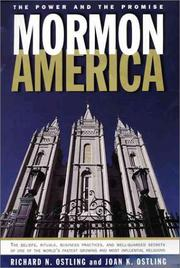 Cover art for MORMON AMERICA