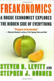 Book Cover for FREAKONOMICS