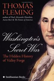 WASHINGTON'S SECRET WAR by Thomas Fleming