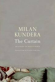 Book Cover for THE CURTAIN