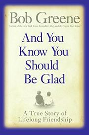 Book Cover for AND YOU KNOW YOU SHOULD BE GLAD