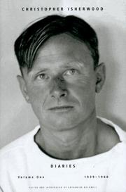 DIARIES by Christopher Isherwood