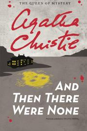 Cover art for AND THEN THERE WERE NONE