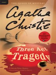 Cover art for MURDER IN THREE ACTS
