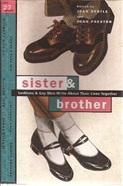 SISTER AND BROTHER by Joan Nestle