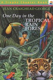 Cover art for ONE DAY IN THE TROPICAL RAIN FOREST