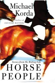 Book Cover for HORSE PEOPLE