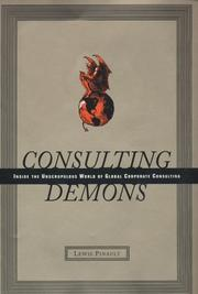 CONSULTING DEMONS by Lewis Pinault