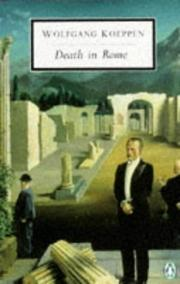 DEATH IN ROME by Wolfgang Koeppen