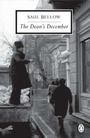 THE DEAN'S DECEMBER by Saul Bellow
