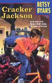 CRACKER JACKSON by Betsy Byars