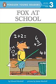FOX AT SCHOOL by Edward Marshall