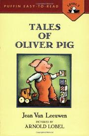 TALES OF OLIVER PIG by Jean Van Leeuwen