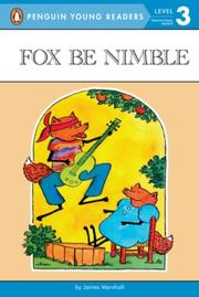 FOX BE NIMBLE by James Marshall