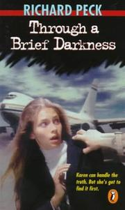 Cover art for THROUGH A BRIEF DARKNESS