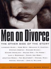MEN ON DIVORCE by Penny Kaganoff