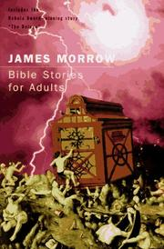 Cover art for BIBLE STORIES FOR ADULTS