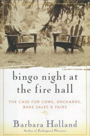 BINGO NIGHT AT THE FIRE HALL by Barbara Holland