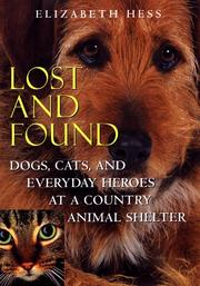 LOST AND FOUND by Elizabeth Hess