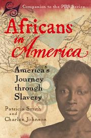 AFRICANS IN AMERICA by Charles Johnson