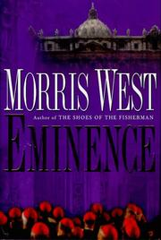 EMINENCE by Morris West