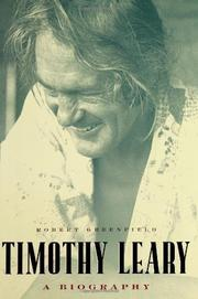 Book Cover for TIMOTHY LEARY