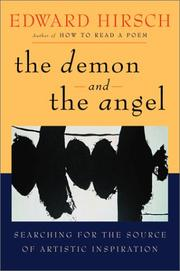 THE DEMON AND THE ANGEL by Edward Hirsch
