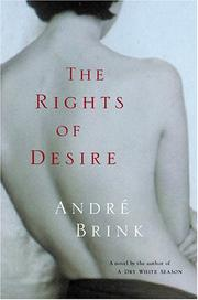 Cover art for THE RIGHTS OF DESIRE