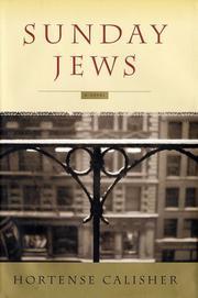 SUNDAY JEWS by Hortense Calisher