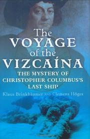 THE VOYAGE OF THE VIZCA›NA by Klaus Brinkbäumer