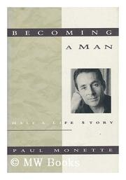 BECOMING A MAN by Paul Monette