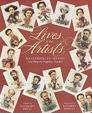 LIVES OF THE ARTISTS by Kathleen Krull