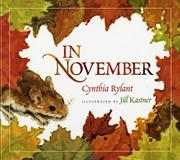 Cover art for IN NOVEMBER