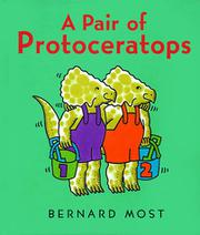 A PAIR OF PROTOCERATOPS by Bernard Most