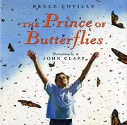 THE PRINCE OF BUTTERFLIES by Bruce Coville