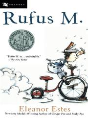 Cover art for RUFUS M.