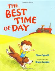 THE BEST TIME OF DAY by Eileen Spinelli