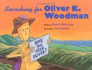 Cover art for SEARCHING FOR OLIVER K. WOODMAN
