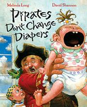 Book Cover for PIRATES DON'T CHANGE DIAPERS